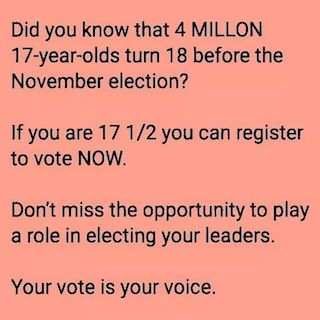 Please VOTE...
