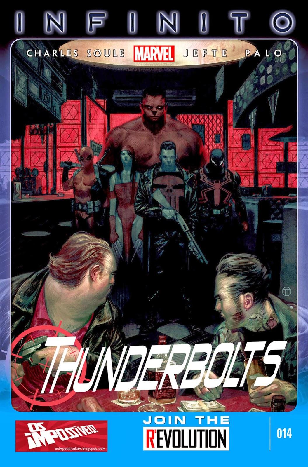 Nova Marvel! Thunderbolts #14