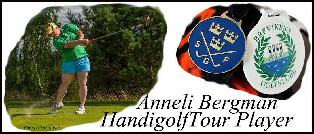 Anneli Bergman - HandiTour Golfplayer