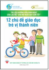 12 chủ đề giáo dục trẻ vị thành niên