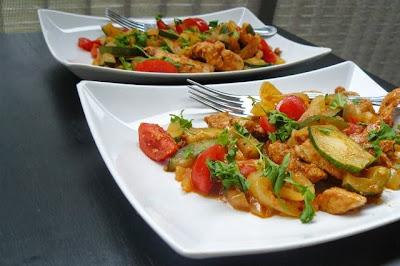 Grillowany kurczak po marokańsku