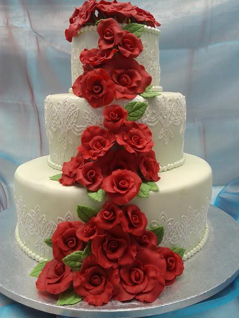 Il bellissimo mondo di antonella decorating torta a 3 for 3 piani di piani a schiera di 3 piani