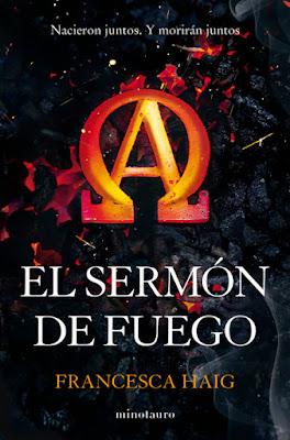 LIBRO - El Sermón de Fuego Francesca Haig (Minotauro - 15 Septiembre 2015) NOVELA CIENCIA FICCION- FANTASIA Edición papel & ebook kindle | Comprar en Amazon