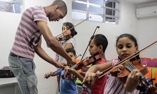 Cidade de Deus RJ inaugura espaço para música clássica