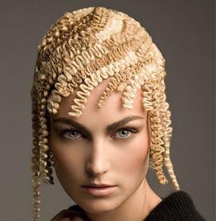 Sarı saç tarzı farklı saç modelleri 2012 yeni moda