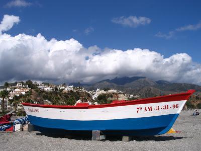 Playa Burriana in Nerja