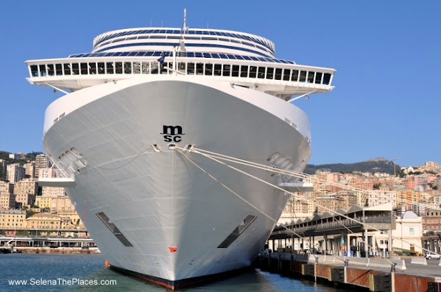MSC Splendida Med Cruise