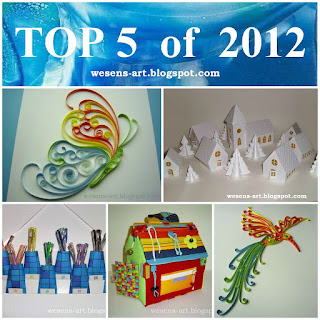 TOP 5 of 2012     wesens-art.blogspot.com