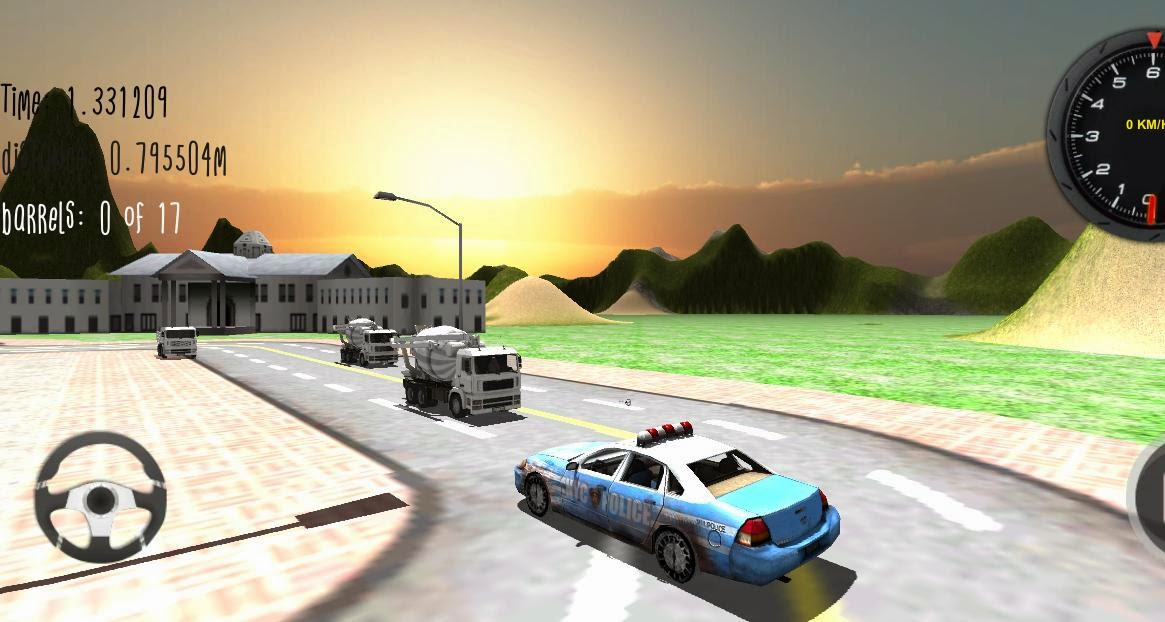 Police Car Driver 3D Android Apk Oyun resimi 4
