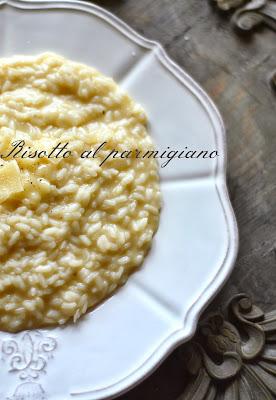 risotto al parmigiano