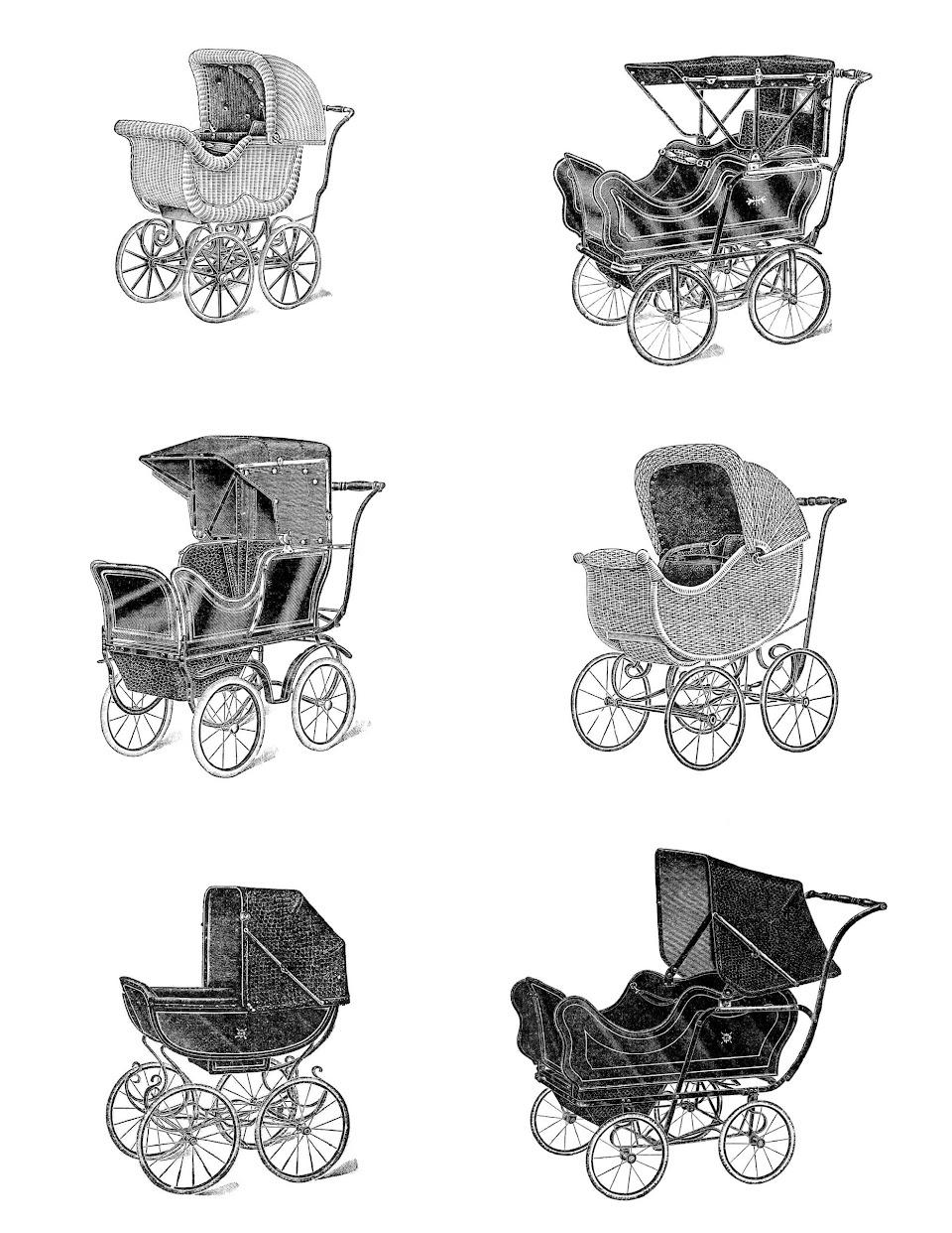 Green Baby Stroller Clip Art Baby carriage clip art