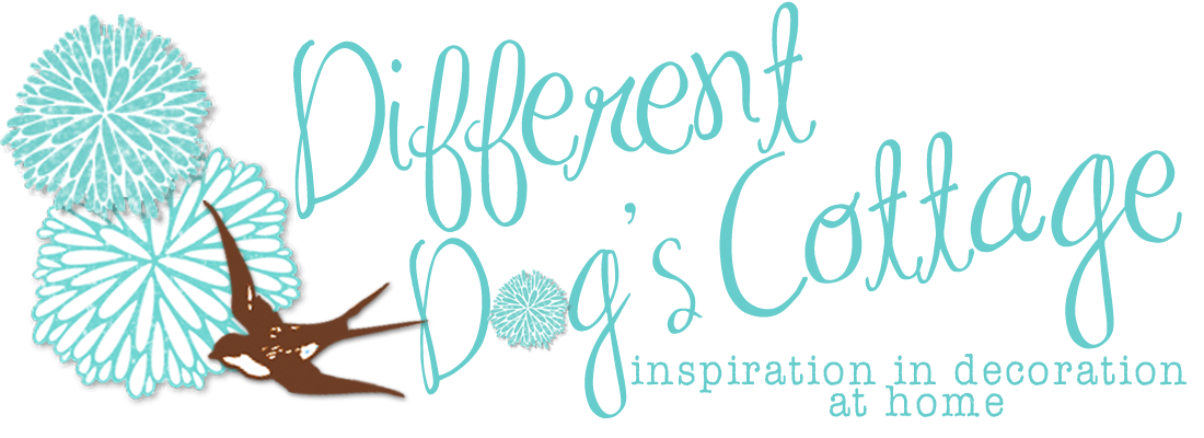 Different Dog&#39;s Cottage {inspiration in decoration}
