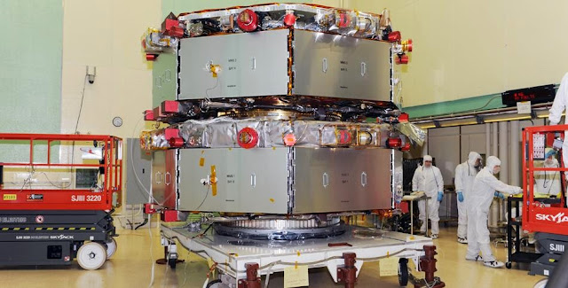 Magnetospheric Multiscale Satellite (MMS). Credit: NASA