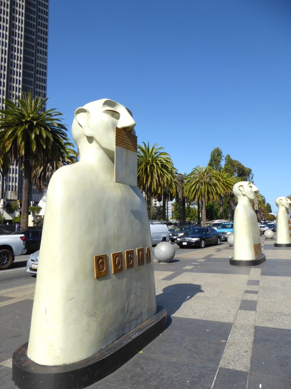 Our Silences sculpture Embarcadero San Francisco