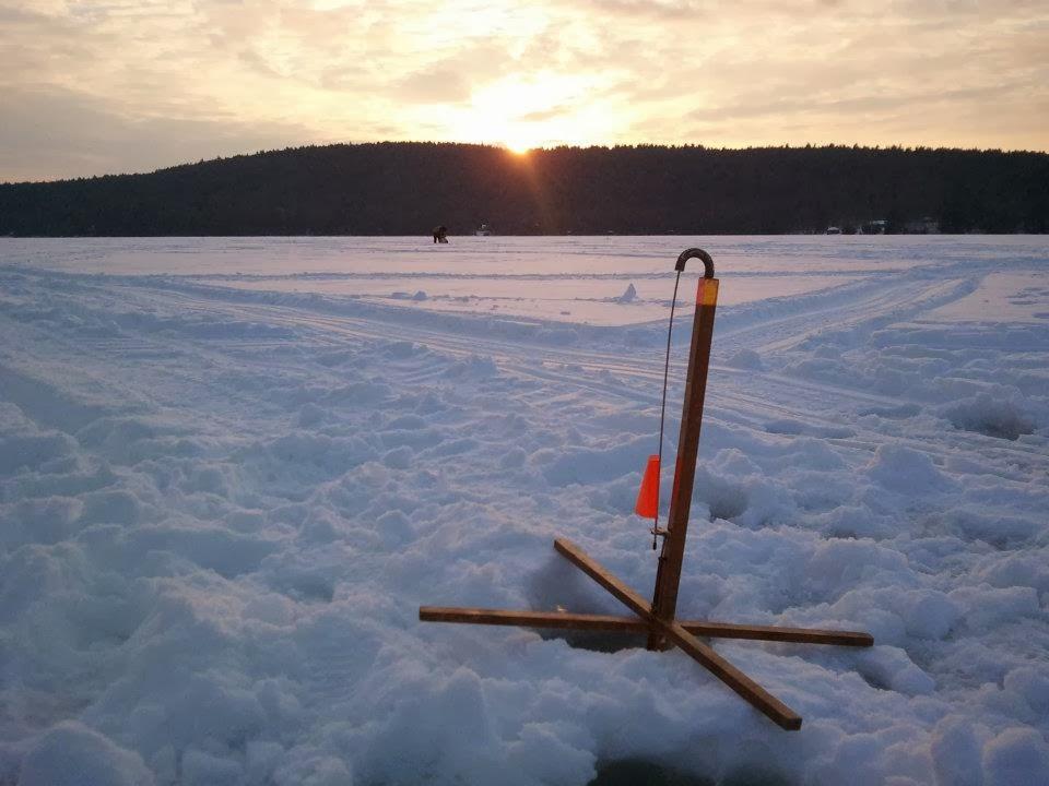 Ice fishing 2014 maine fishing trips for Maine ice fishing