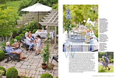Better Homes & Gardens, feature