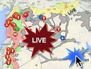 Χάρτης Μαχών στη Συρία
