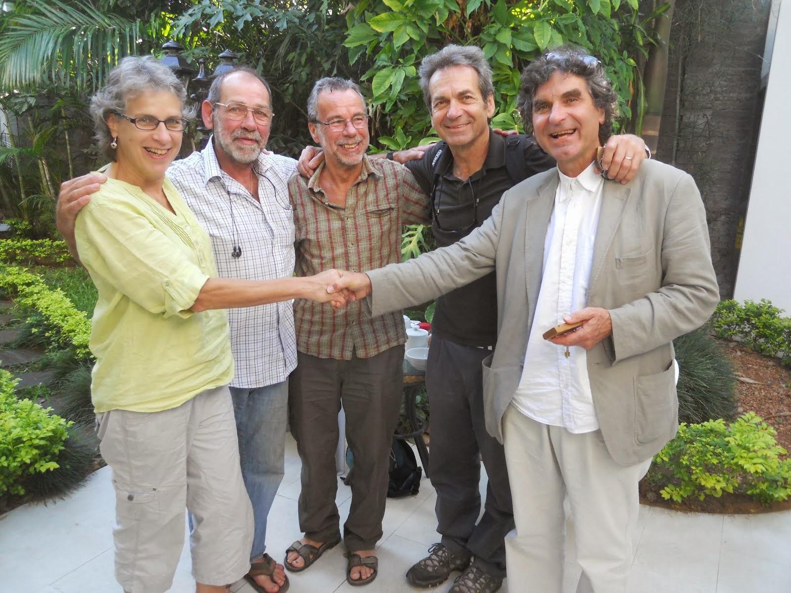 Matt and siblings, Paraguay 2012