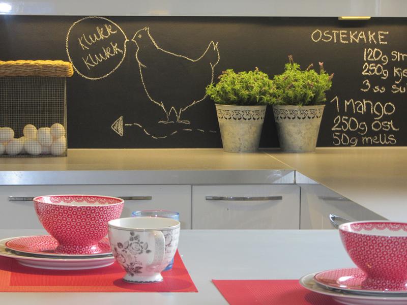 Bakplate Kjøkken : Bakplate er ferdig og kan v?re quot aktiv med ...