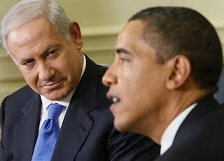 Obama with Benjamin Netanyahu