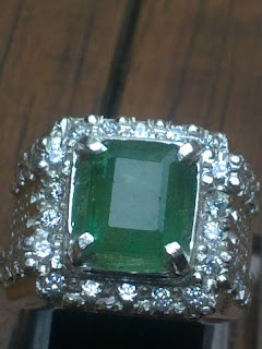 natural emerald from Brazil