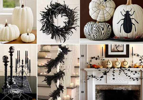 Kayla Lebaron Interiors Getting In The Halloween Mode: classy halloween decorations