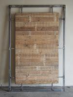 Face do painel de madeira