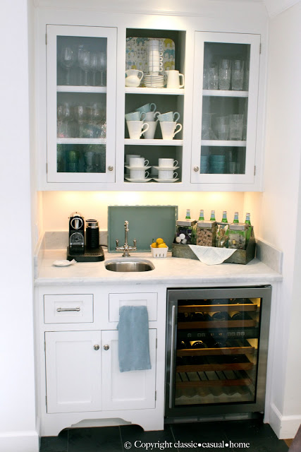 Kitchen beverage center shine your light for Kitchen set mini bar