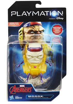 TOYS : JUGUETES - PLAYMATION Marvel Avengers - M.O.D.O.K. Villain Smart Figure | Figura - Muñeco  Producto Oficial Disney 2015 | Hasbro B4547 | A partir de 6 años Comprar en Amazon