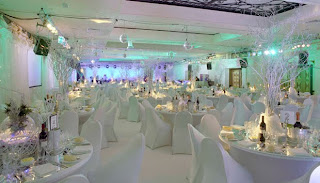Luxurious Winter Wonderland Wedding Decorations