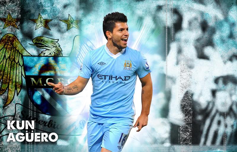 Sergio Aguero Manchester City Wallpaper