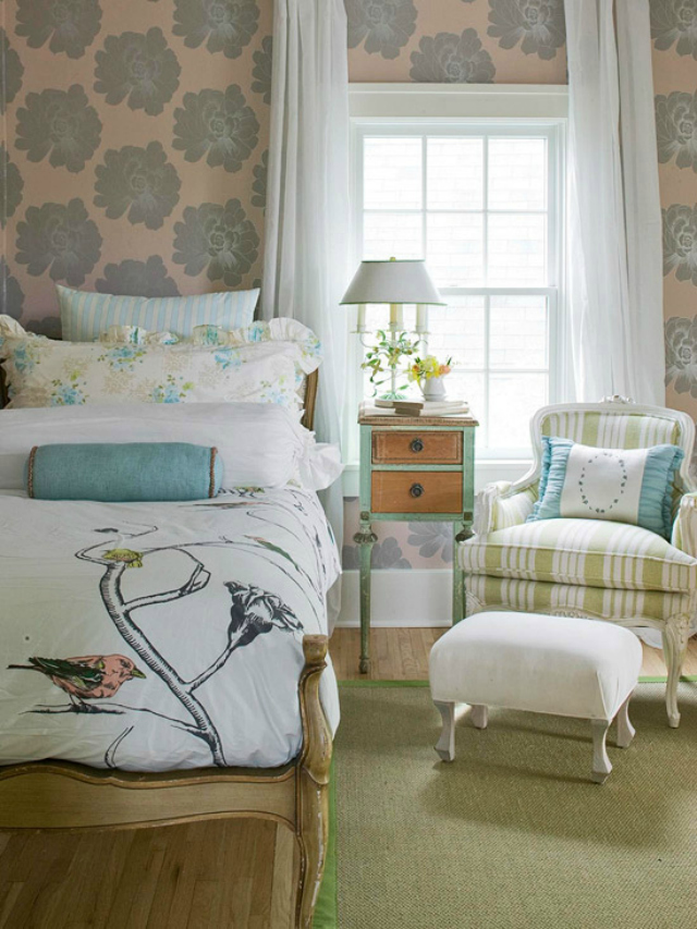 Guest room ideas design improvised Guest bedroom decorating tips