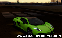 DOWNLOAD GTA SA - Mclaren MP4-12C WheelsAndMore 2013