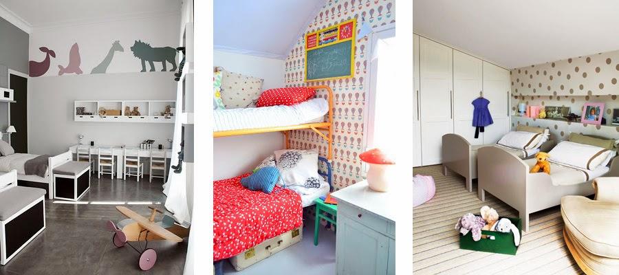 Blanco vintage dormitorios infantiles de dos camas - Camas infantiles en ikea ...