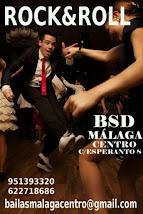 3º TALLER DE ROCK AND ROLL  EN MARZO EN BSD MÁLAGA CENTRO