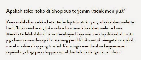 Shopious.com Online Shop Fashion Terkini