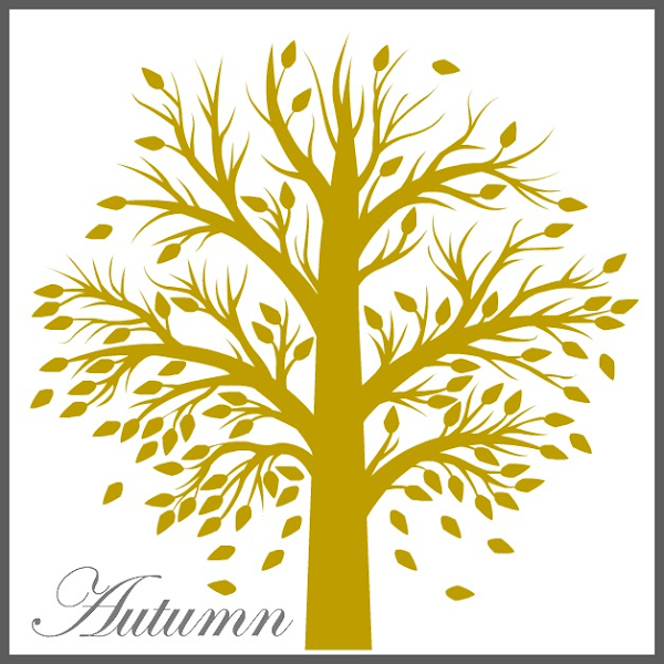 Free Autumn Tree Printable from Blissful Roots