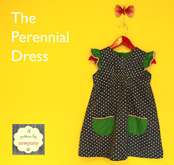 The Perennial Dress - Free pattern and tutorial