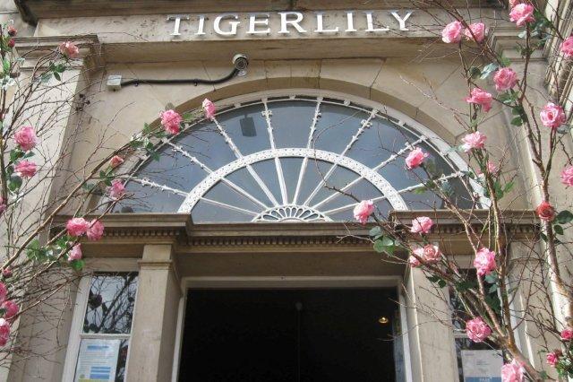 Entrada de Tigerlily en Edimburgo Edinburgh