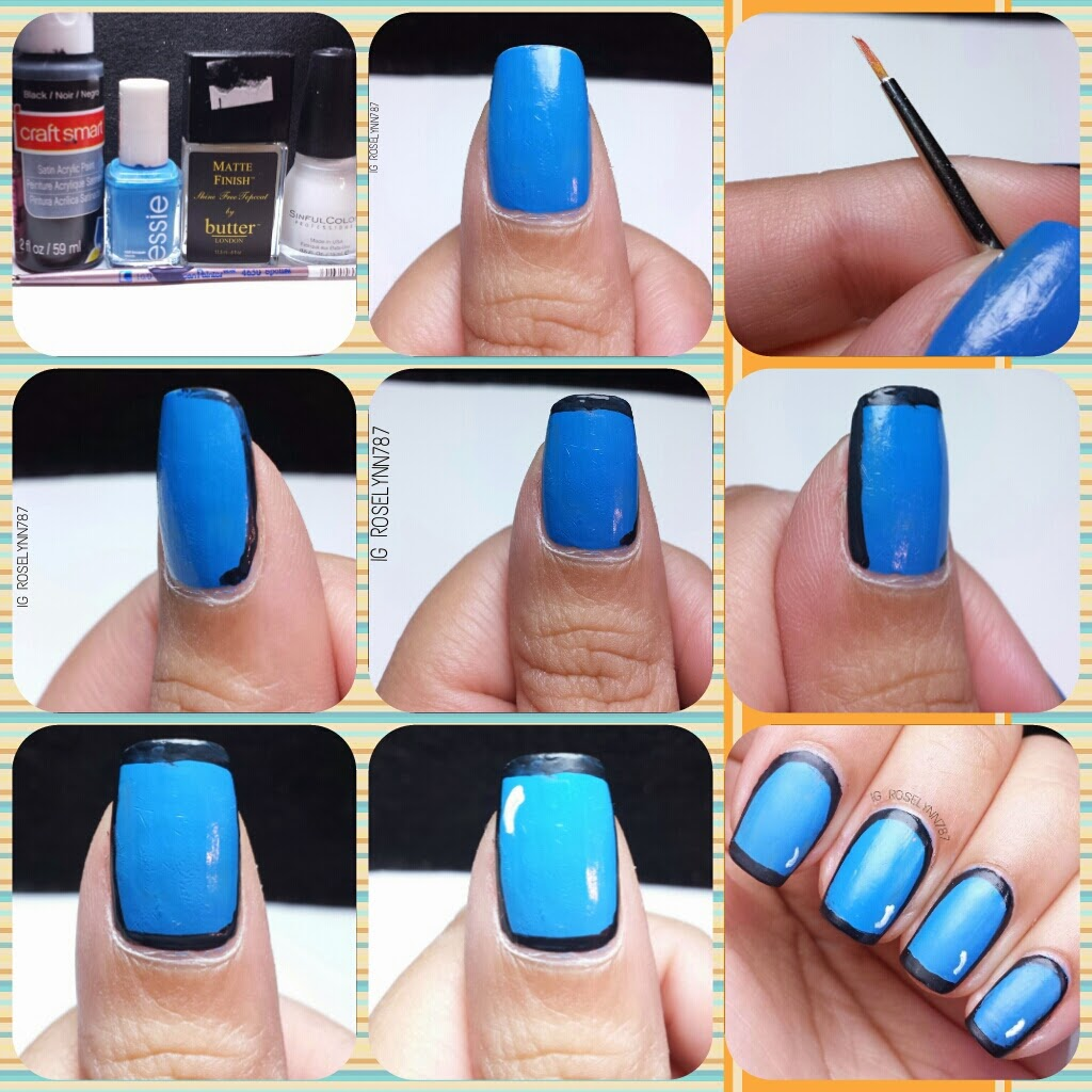 Tutorial Popart Nails Manicured Marvelous