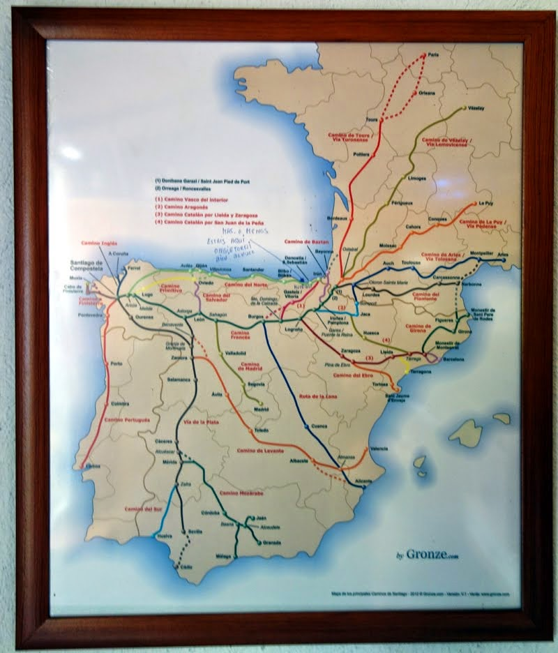 The Camino Routes