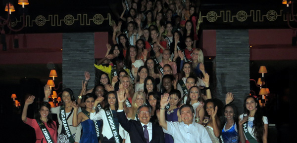 Miss Earth 2012 Best Participation and Most Sociable Awards