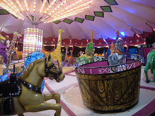 Leiria May Fair Carousel photo - Portugal