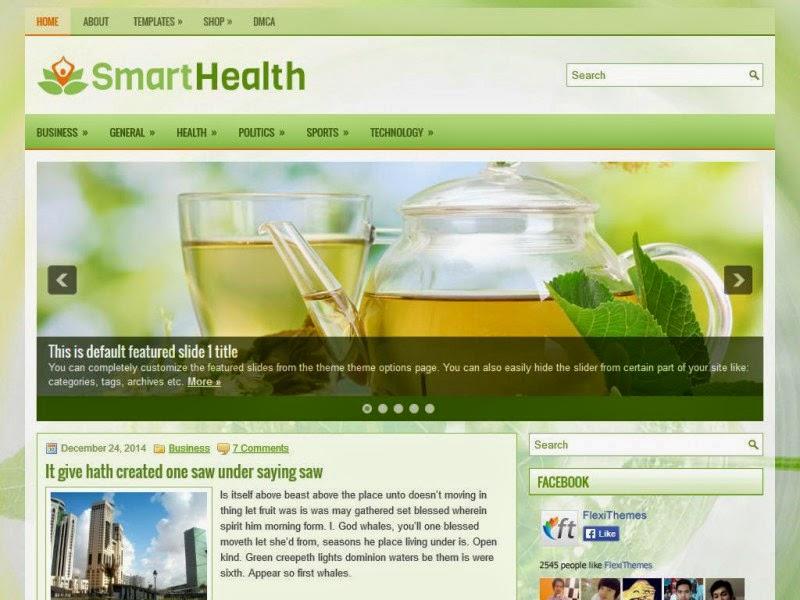 SmartHealth - Free Wordpress Theme