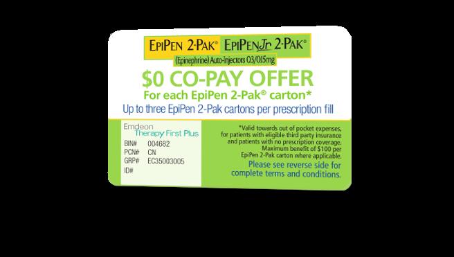 Epipen jr discount coupons
