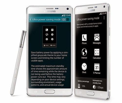 Spesifikasi dan Harga HP Samsung Galaxy Note 4 Terbaru