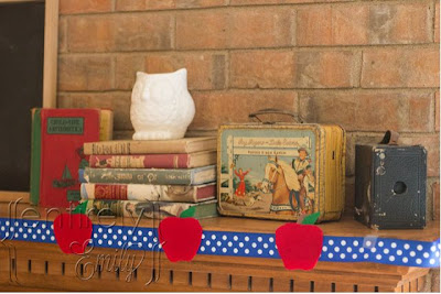Vintage School Mantel