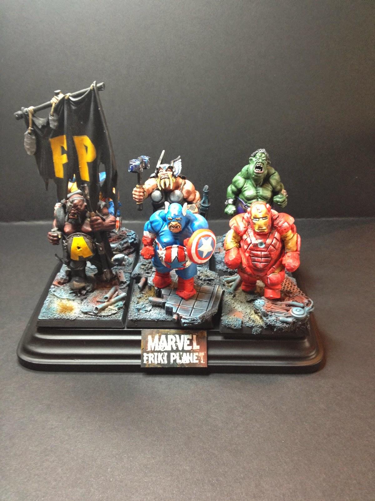 """Superhérores """"Ogros"""" de Marvel"""