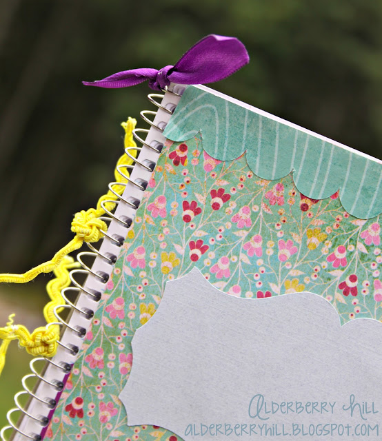 1 pm008 DIY: Altered Notebook with Mini File Folders
