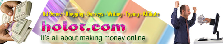 It's all about Earning Money Online